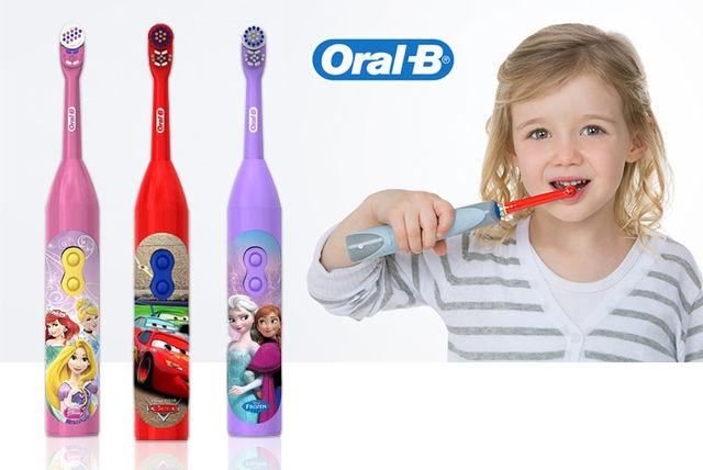 مسواک اورال بی کودکان (باطری) یکی از محصولات اورال-بی زیر نظر کمپانی براون آلمان می باشد.